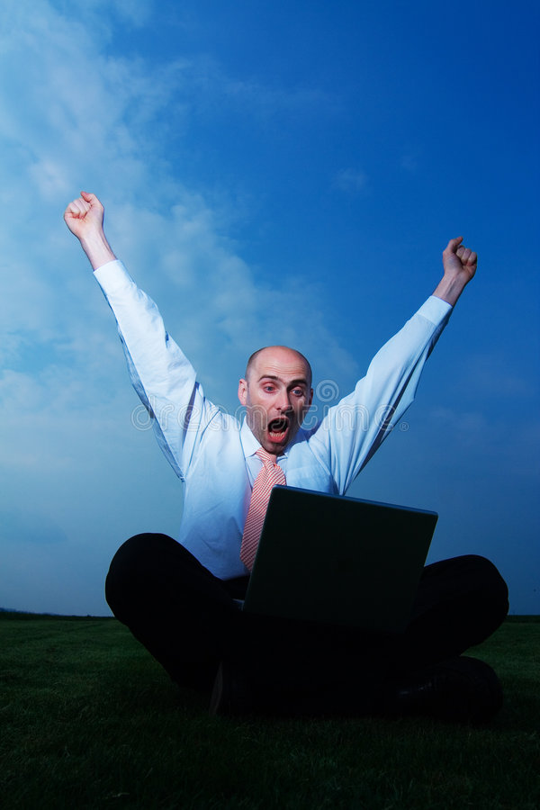 Download Businessman stock image. Image of excited, male, fists - 2321635