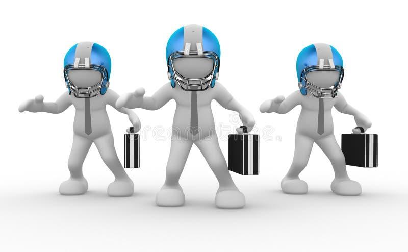 Download Businessman stock illustration. Illustration of competition - 23836395
