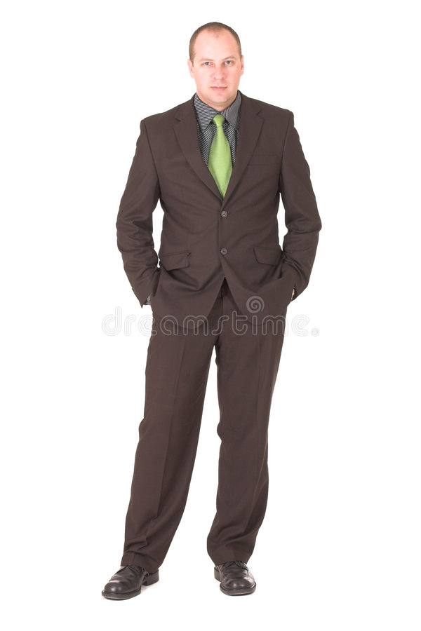 Free Businessman 3 Royalty Free Stock Image - 962606