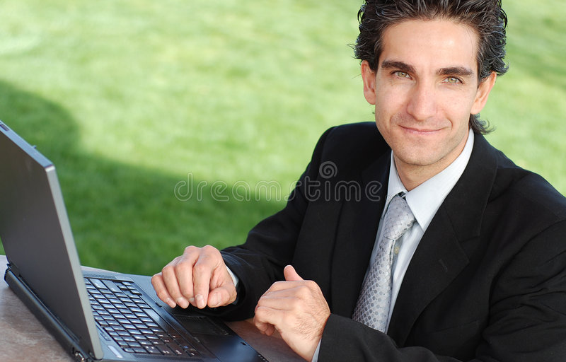 Download Businessman stock image. Image of motivated, male, happy - 4588049