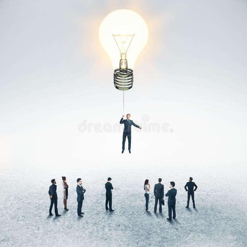 Success and leadership concept royalty free stock photos
