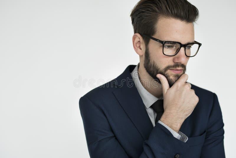 Businessman Adult Portrait Occupation Concept royalty free stock image