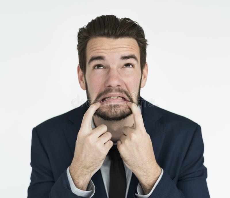 Businessman Adult Portrait Occupation Concept stock photos