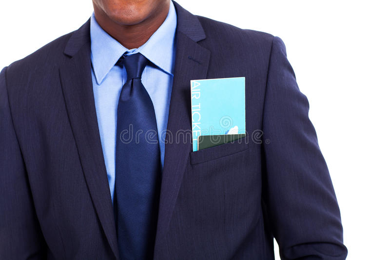 Download Businessman air ticket stock image. Image of space, ticket - 29449525