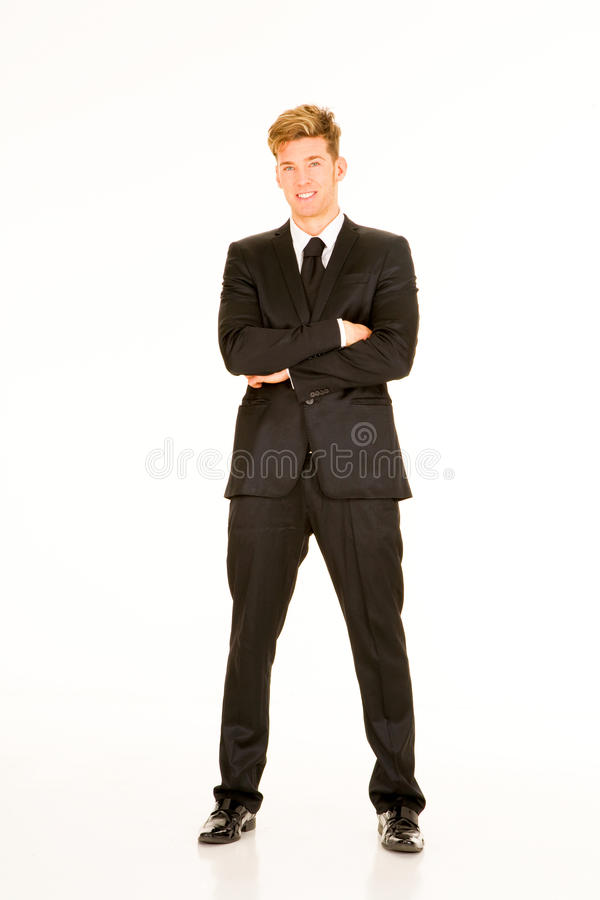 Download Businessman With Arms Crossed Stock Photo - Image: 24395530