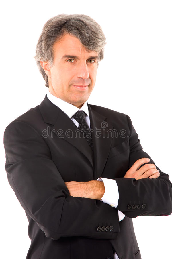 Download Businessman With Arms Crossed Royalty Free Stock Photos - Image: 25545058