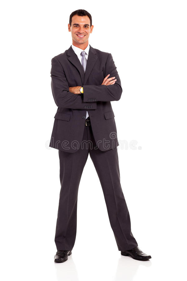 Download Businessman Arms Folded Royalty Free Stock Photography - Image: 29128847