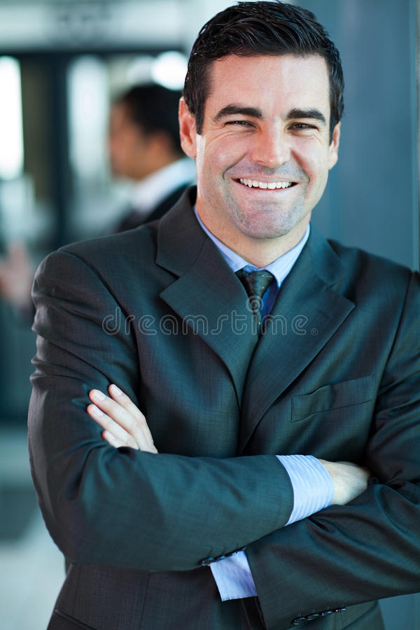 Download Businessman arms folded stock image. Image of company - 32079069