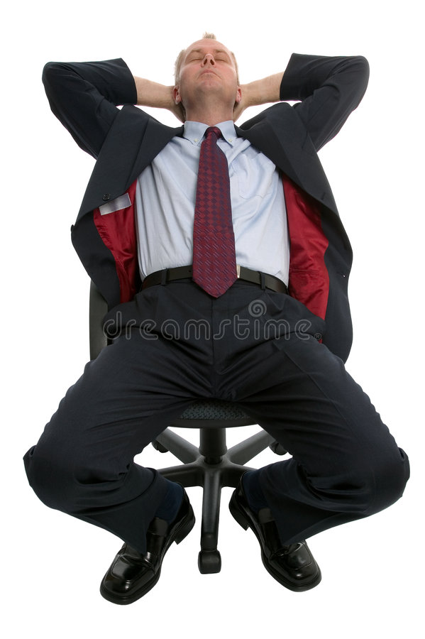 Download Businessman Asleep. Royalty Free Stock Photography - Image: 3292597
