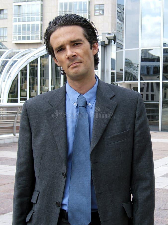 Businessman attitude royalty free stock photo