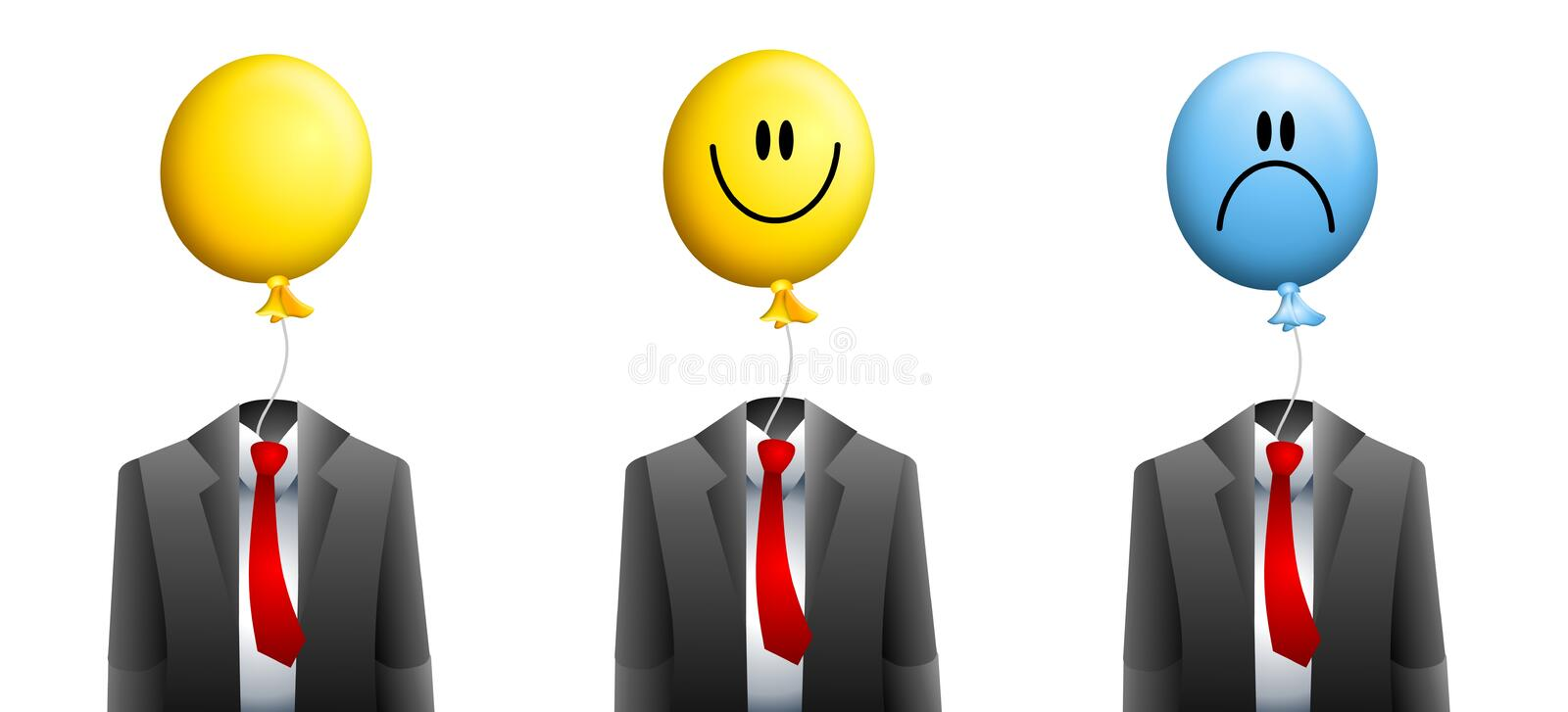 Download Businessman Balloon Face Stock Images - Image: 5613284