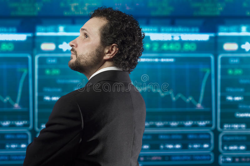 Download Businessman With Beard And Black Suit Royalty Free Stock Photography - Image: 29640127