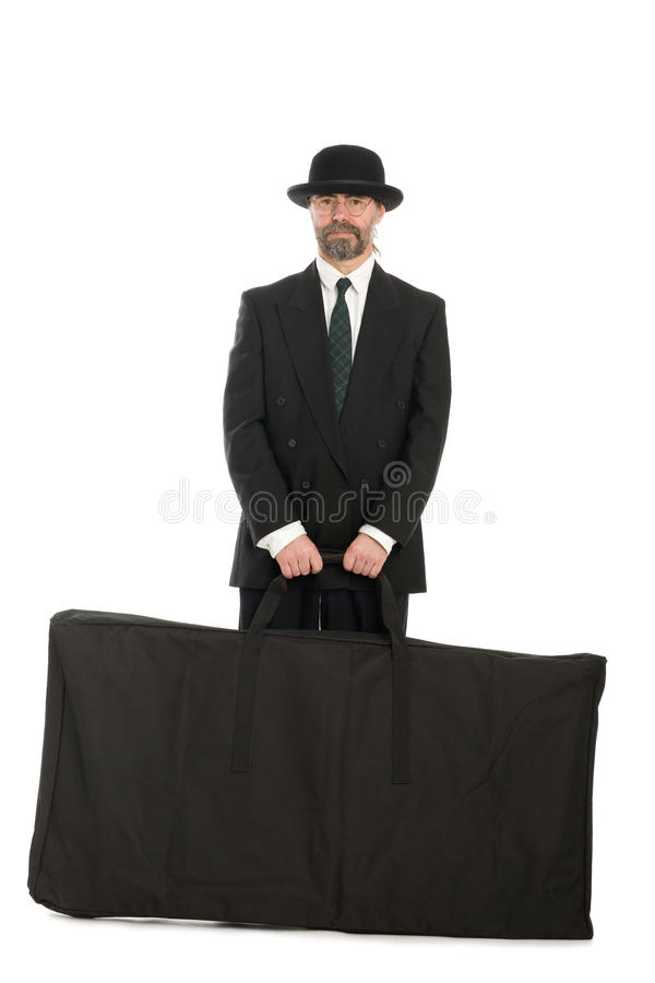 Download Businessman With A Big Bag. Stock Photo - Image: 17614810