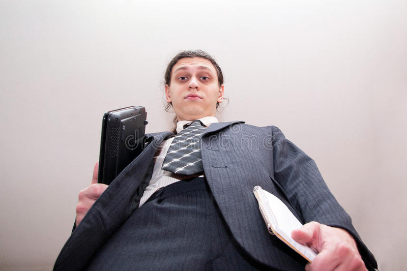 Download Businessman Big Boss Royalty Free Stock Photography - Image: 23778787