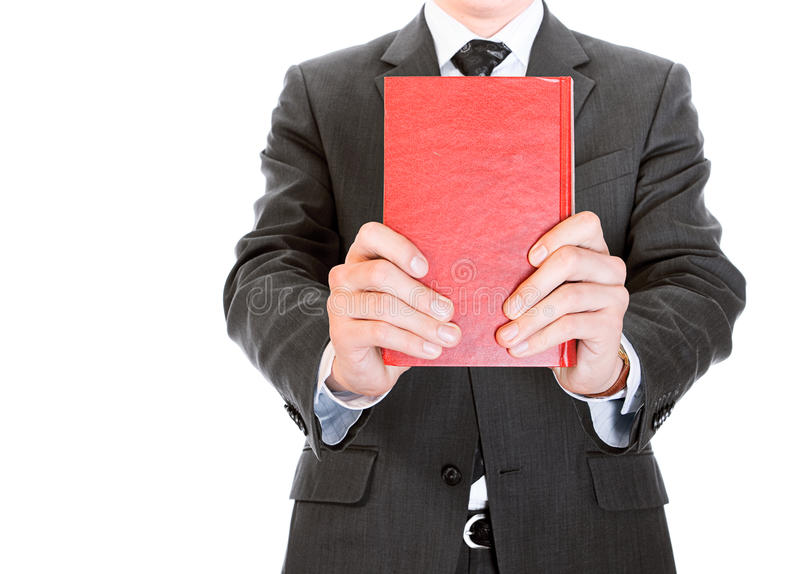 Download Businessman with book stock image. Image of career, beauty - 10857821