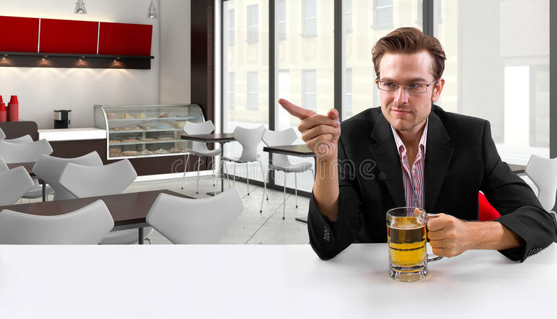 Download Businessman on Break stock photo. Image of leisure, office - 35529730