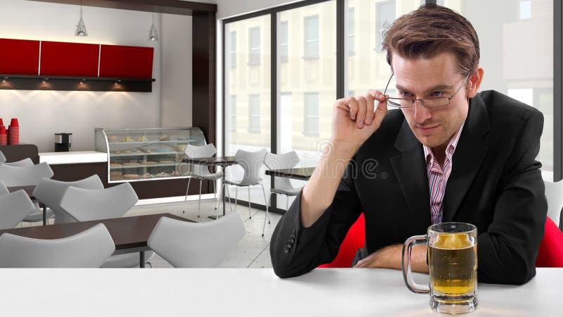 Download Businessman on Break stock photo. Image of alcohol, break - 35529734