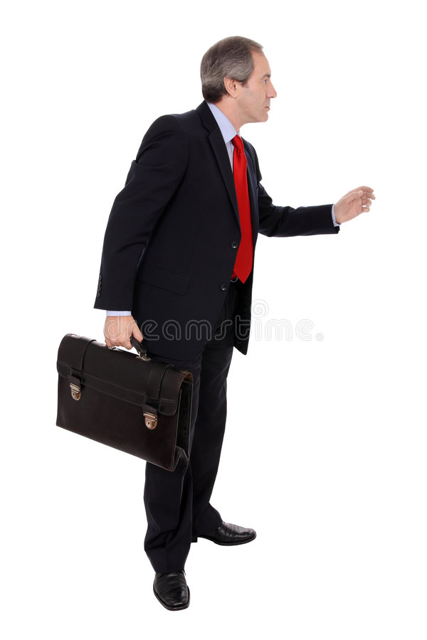 Download Businessman with briefcase stock image. Image of closeup - 6596349