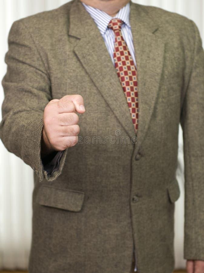 Businessman in business attire stock image