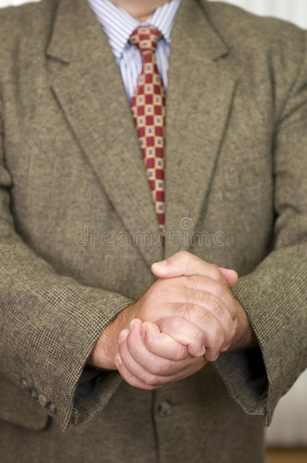 Businessman in business attire royalty free stock photos