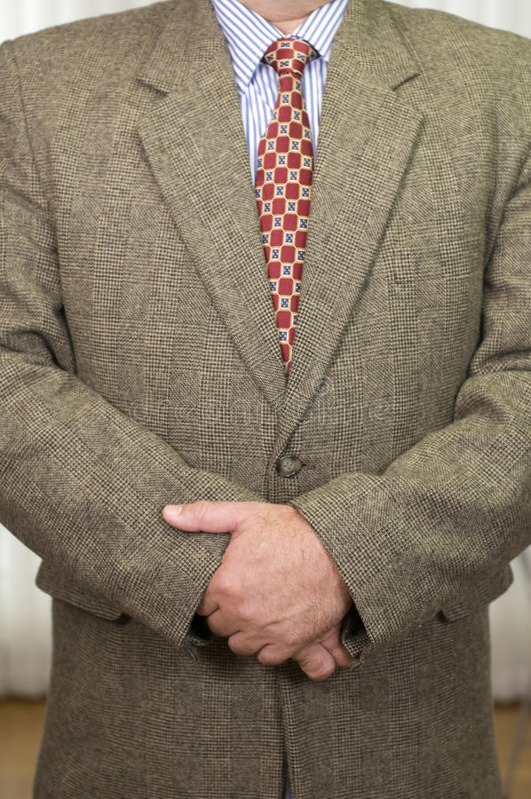 Businessman in business attire royalty free stock photo