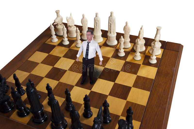 Download Businessman, Business Strategy, Marketing, Chess Stock Image - Image: 17864933