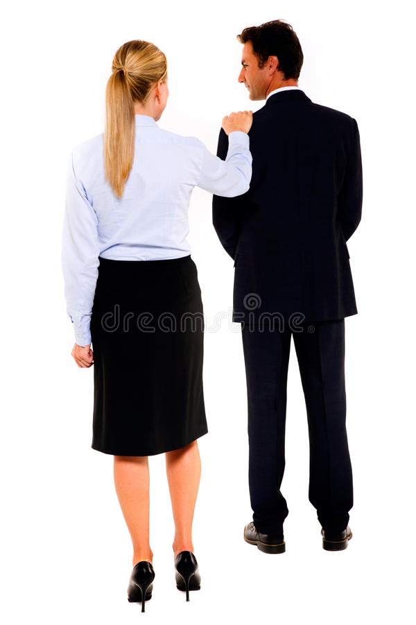 Download Businessman And Businesswoman Stock Photo - Image: 24505014