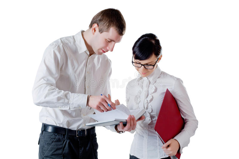 Download Businessman And Businesswoman Stock Photo - Image: 26952480