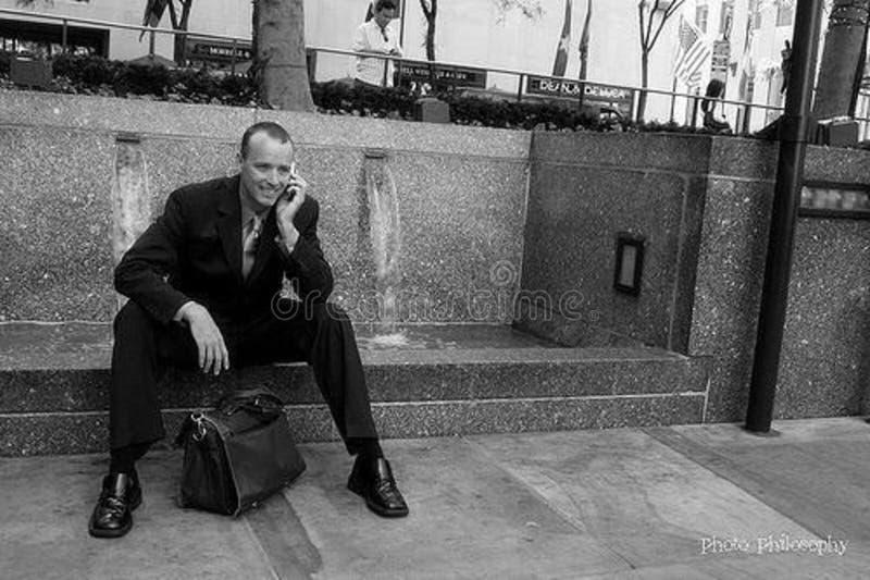 Businessman On Cellphone Free Public Domain Cc0 Image