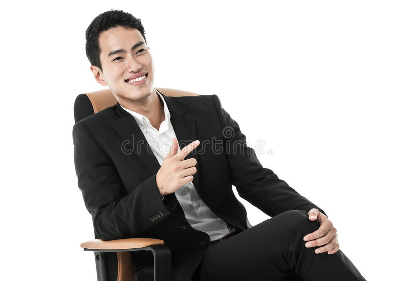 Download Businessman On A Chair Royalty Free Stock Photos - Image: 36707308