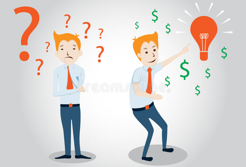 Download Businessman Character Vector Illustration Stock Vector - Image: 34653141