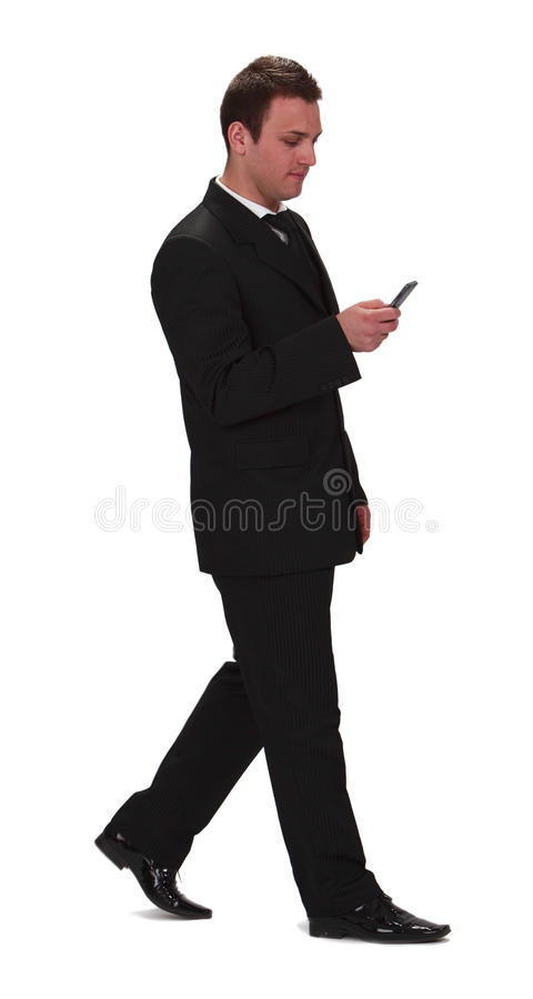 Download Businessman Checking The Mobile Phone Stock Photo - Image: 13883640