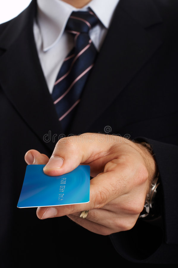Businessman Closeup royalty free stock images
