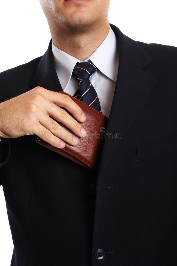 Businessman Closeup royalty free stock image