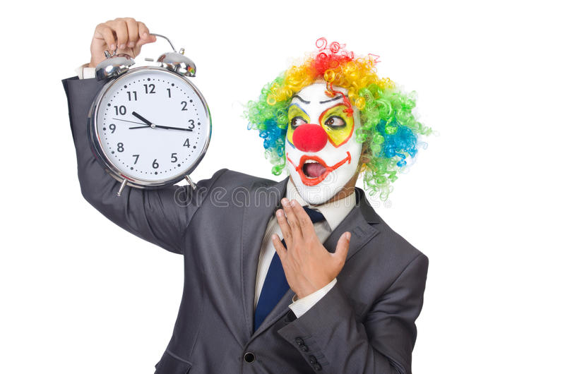 Download Businessman clown stock image. Image of delay, humorous - 33135099