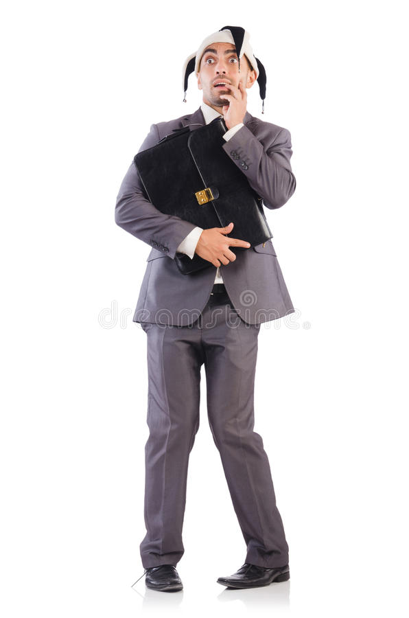 Download Businessman clown stock image. Image of carnival, buffoon - 34468997