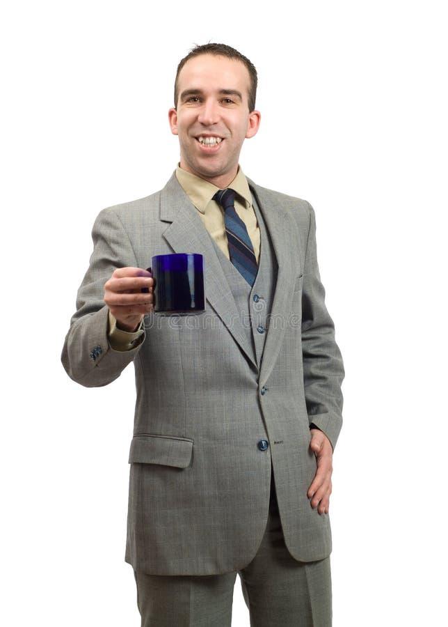 Download Businessman On Coffee Break Stock Image - Image: 7683183