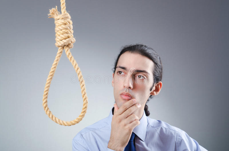 Download Businessman Committing Suicide Stock Image - Image: 22336577