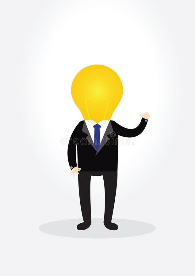 Businessman Concept. royalty free illustration