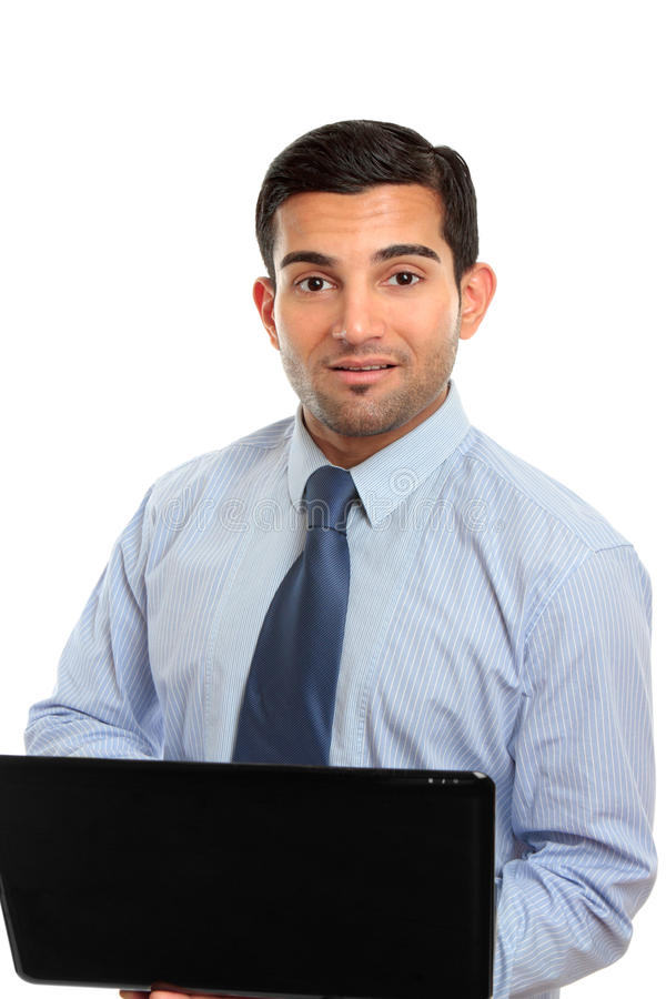 Businessman or IT consultant royalty free stock photo
