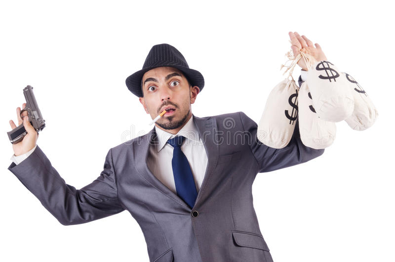 Download Businessman criminal stock image. Image of robbery, robber - 30095313