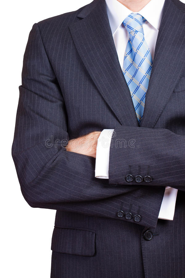 Download Businessman With Crossed Arms Stock Photo - Image: 15217544