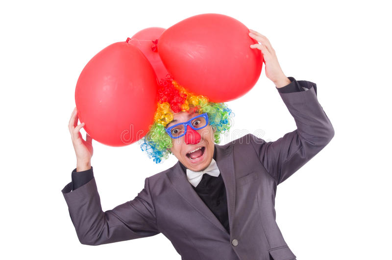 Download Businessman with crown stock image. Image of circus, comedy - 36988865