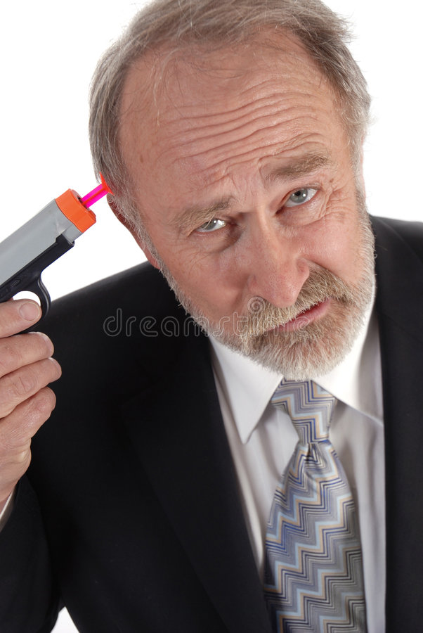 Download Businessman dart gun stock image. Image of corporate, deals - 3371937
