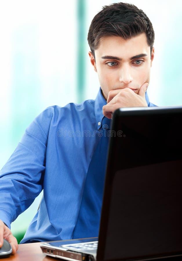 Download Businessman At Desk Stock Images - Image: 26830574