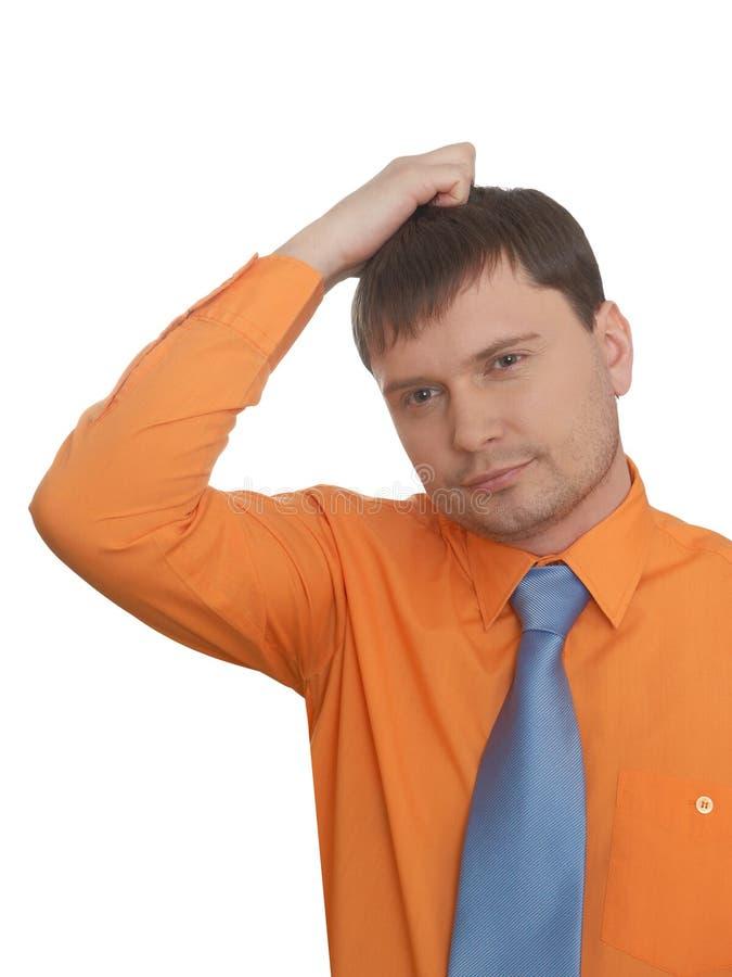 Businessman In Despair Stock Photography