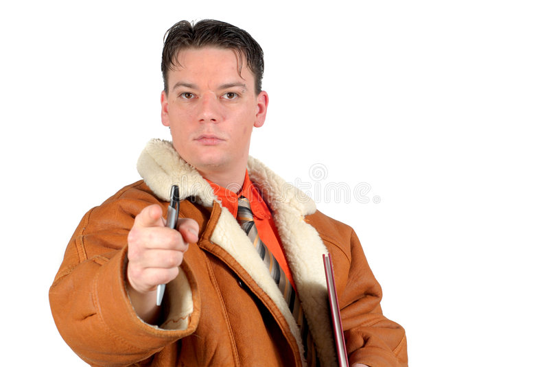 businessman determined pointing you young στοκ εικόνες