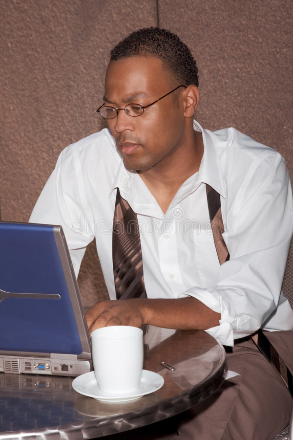 Download Businessman Doing Business Outside The Office Royalty Free Stock Photography - Image: 6386007