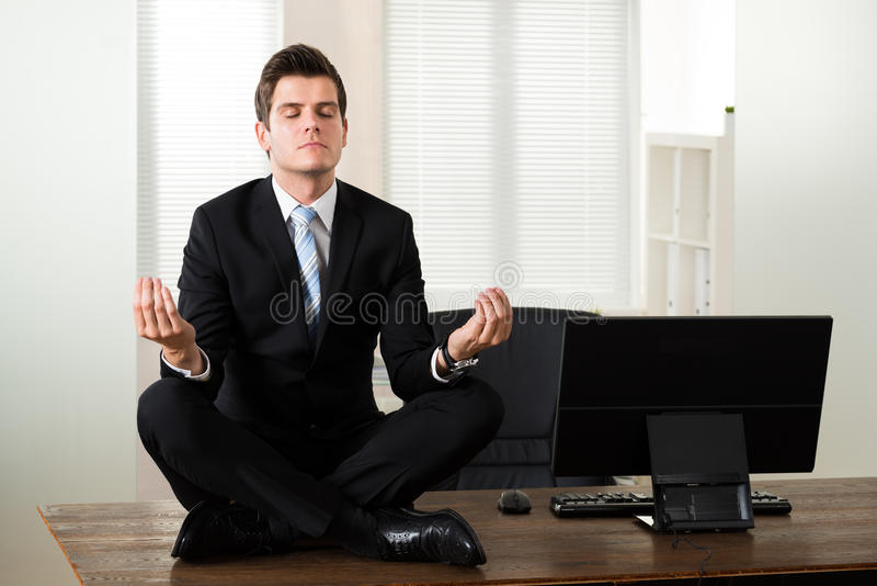office meditation. Wonderful Office Download Businessman Doing Meditation In Office Stock Photo  Image Of  Manager Health 57969098 To
