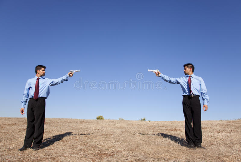 Download Businessman Duel Stock Photography - Image: 21995112